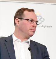 Brooks, till vänster.  Jonas Ekströmer/TT / TT NYHETSBYRÅN