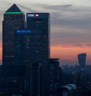 Arkivbild: Londons finanskvarter kring Canary Wharf Eddie Keogh / TT NYHETSBYRÅN