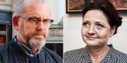 Johan Lindholm och Marie Nilsson. TT