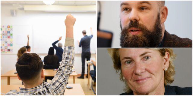 Daniel Suhonen, Anne-Marie Pålsson. Arkivbilder. TT