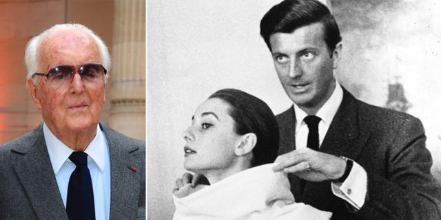 Hubert de Givenchy samarbetade med skådespelerskan Audrey Hepburn i många år. TT