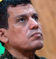 Mazloum Kobani, befälhavare för SDF-styrkorna. AFP
