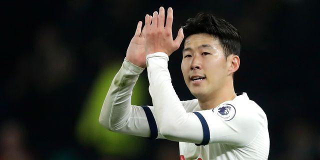 Tottenhams Son Heung-min. Matt Dunham / TT NYHETSBYRÅN