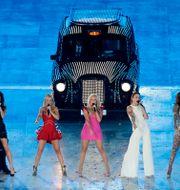 Spice Girls under ett uppträdande 2012. Hassan Ammar / TT NYHETSBYRÅN