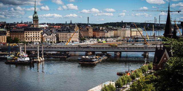 Getingmidjan i Stockholm. Arkivbild. Erik Simander/TT / TT NYHETSBYRÅN