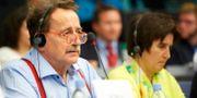 Jens Nilsson (S) i Europaparlamentet i Strasbourg. FREDRIK PERSSON / TT / TT NYHETSBYRÅN