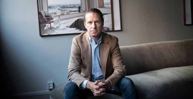 Oscar Properties grundare och vd Oscar Engelbert. Malin Hoelstad/SvD/TT / TT NYHETSBYRÅN