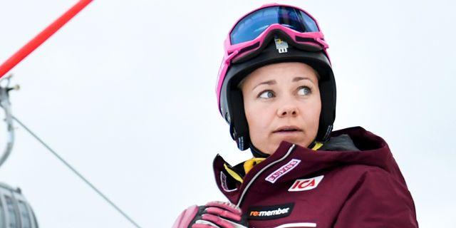 Arkivbild. Frida Hansdotter. Pontus Lundahl/TT / TT NYHETSBYRÅN