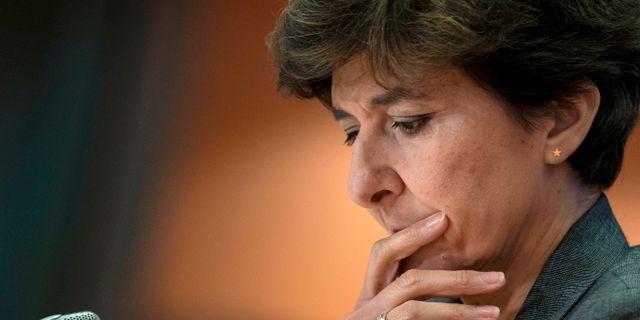Sylvie Goulard. KENZO TRIBOUILLARD / AFP