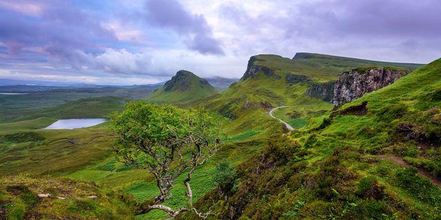 Vem skulle inte vilja åka längs den här vägen? Wikicommons