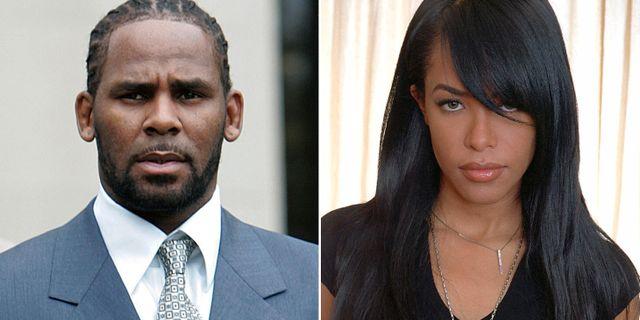 R. Kelly och Aaliyah, som dog i en flygkrasch 2001. TT NYHETSBYRÅN