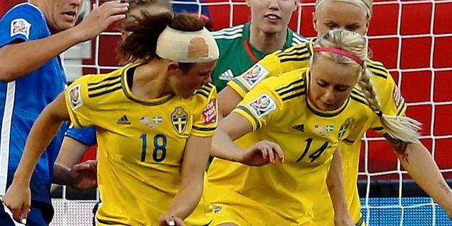 Appelqvist spelade med fraktur