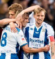 Mikael Boman, Sören Rieks och Sebastian Eriksson. Björn Larsson Rosvall/TT / TT NYHETSBYRÅN