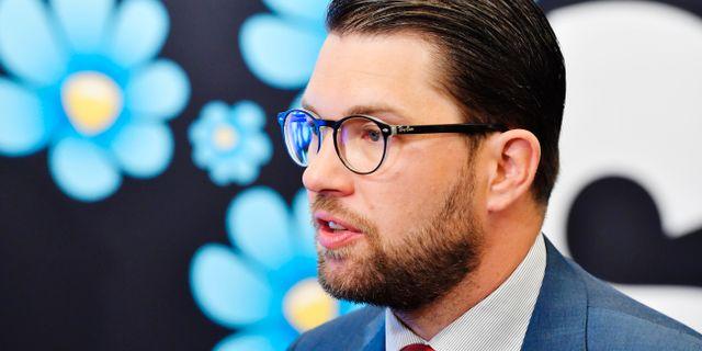 Jimmie Åkesson (SD) Jonas Ekströmer/TT / TT NYHETSBYRÅN
