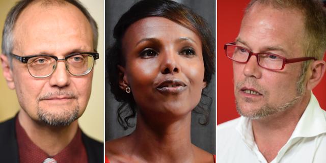Ulf Bjereld, Nasra Ali, Sören Juvas. TT