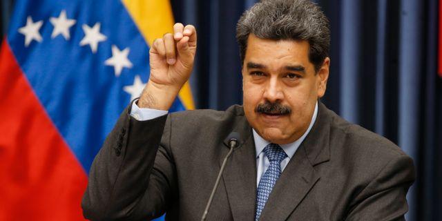 Nicolas Maduro Ariana Cubillos / TT NYHETSBYRÅN/ NTB Scanpix