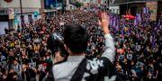 Över en miljon uppges ha deltagit ISAAC LAWRENCE / AFP