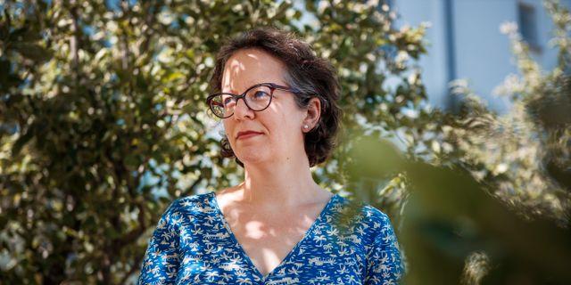 Kimberly Nicholas. Simon Rehnström/SvD/TT / TT NYHETSBYRÅN