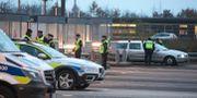 Gränskontroll vid Öresundsbron.  Stig-Åke Jönsson/TT / TT NYHETSBYRÅN