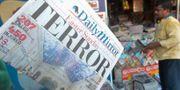 Förstasidor i Sri Lanka dagen efter attacken. ISHARA S. KODIKARA / AFP
