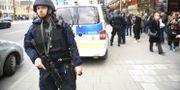 Polisinsatsen på Fridhemsplan. Maja Suslin/TT / TT NYHETSBYRÅN