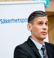 Daniel Stenling, chef för kontraspionage vid Säkerhetspolisen. Christine Olsson/TT / TT NYHETSBYRÅN