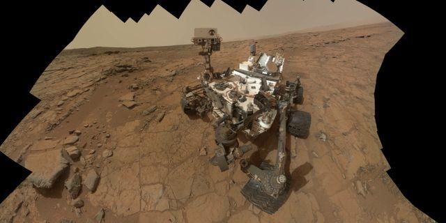 Curiosity på Mars. TT / NTB Scanpix