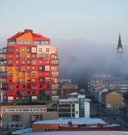 Vy över centrala Örnsköldsvik/Arkivbild Fredrik Sandberg/TT / TT NYHETSBYRÅN