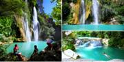 Vid Sillans-la-Cascade finns både ett stort vattenfall och flera mindre. Wikicommons