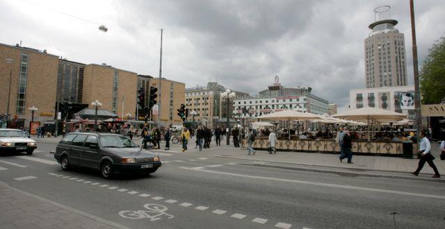 Medborgarplatsen (arkivbild). Bertil Ericson / TT / TT NYHETSBYRÅN