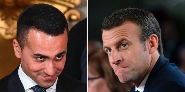 Di Maio, Macron TT
