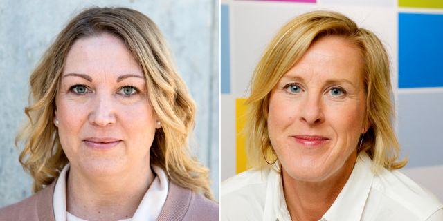 Lärarförbundets ordförande Johanna Jaara Åstrand och Lärarnas riksförbunds ordförande Åsa Fahlén välkomnar förslaget från L. TT