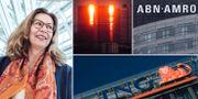 Swedbanks vd Birgitte Bonnesen, Deutsche Bank, ABN Ambro och ING Groep.  TT