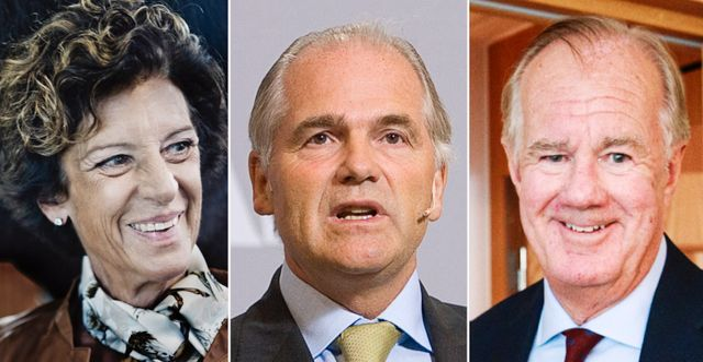 Arkivbilder: Antonia Ax:son Johnson, Melker Schörling och Stefan Persson återfinns alla på DI:s lista över Sverige 169 rikaste personer.  TT