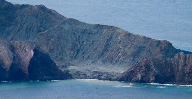 Whakaari, även känt som White Island Jorge Silva / TT NYHETSBYRÅN