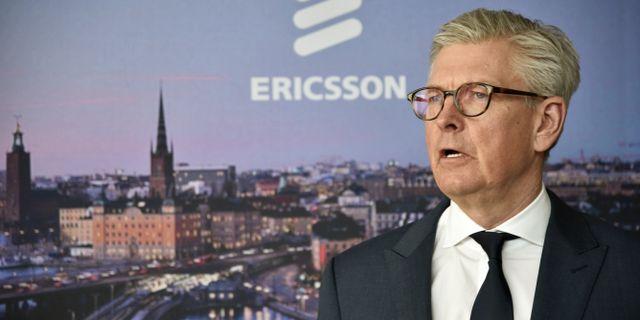 Börje Ekholm, vd och koncernchef för Ericsson.  Lars Schröder/TT / TT NYHETSBYRÅN