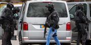 Antiterrorpolis under en insats i nederländska Utrecht. Peter Dejong / TT NYHETSBYRÅN