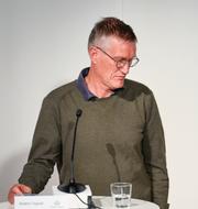 Anders Tegnell, vaccination i Örnsköldsvik TT