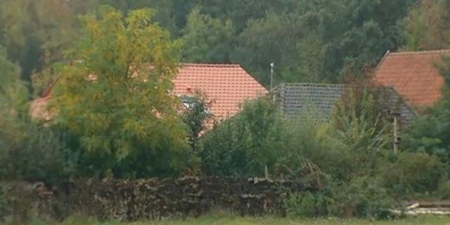 Gården i Nederländerna där syskonen hittades. TT NYHETSBYRÅN