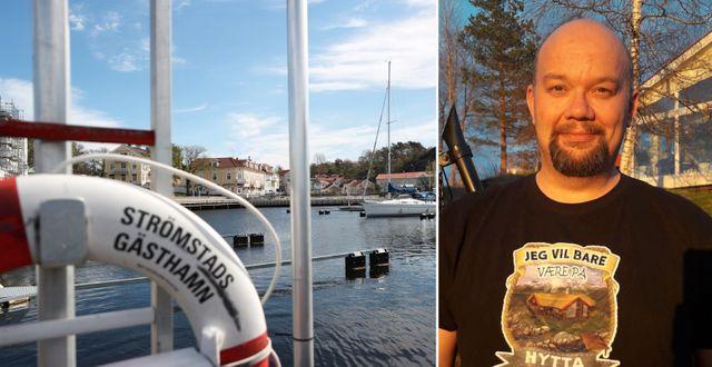 Strömstad hamn/Lars Otto Grønseth. TT/Privat