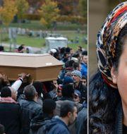 Arkivbild: Begravningen av Ahmed Hassan / Athena Farrokhzad. TT