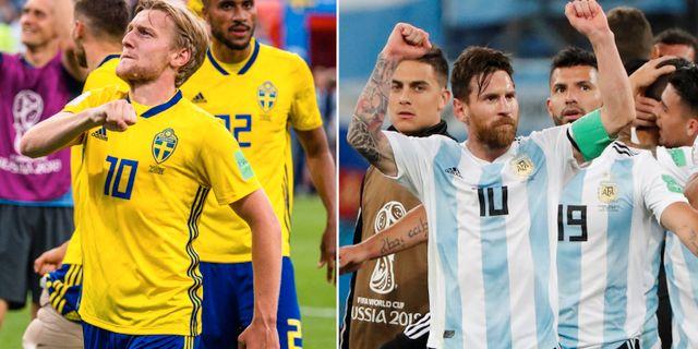 Sverige spelar sin match mot Schweiz på tisdag.  Bildbyrån.