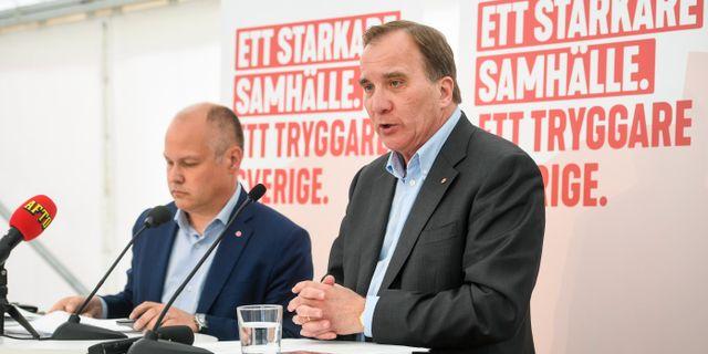 Stefan Löfven. Fredrik Sandberg/TT / TT NYHETSBYRÅN
