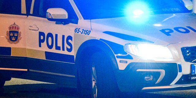 Polisbil/arkivbild.  Johan Nilsson/TT / TT NYHETSBYRÅN