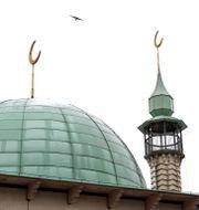 Uppsala moské, arkivbild. PONTUS LUNDAHL / TT / TT NYHETSBYRÅN
