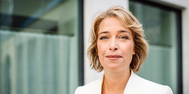 Annika Strandhäll. Erik Simander/TT / TT NYHETSBYRÅN