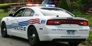 Arkivbild. Polis i Detroit.  Tanya Moutzalias / TT NYHETSBYRÅN/ NTB Scanpix