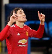 Edinson Cavani, Manchester United CLIVE BRUNSKILL / BILDBYRÅN