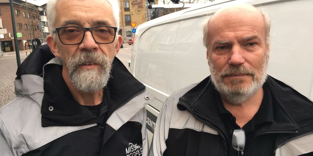 Bengt Espling och Christer Nordqvist. Jonas Dagson/TT / TT NYHETSBYRÅN