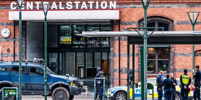 Bild från insatsen den 10 juni. Johan Nilsson/TT / TT NYHETSBYRÅN